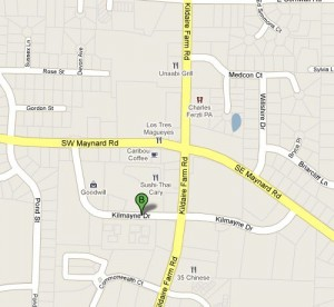 Click on Map to Get Directions to 132 Kilmayne Drive from Google Maps
