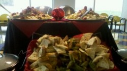 Catering by Design Sets Up Corporate Catering Display