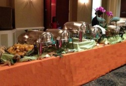 Catering by Design's Caribbean Dinner Buffet