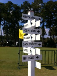 Directions at the Golf Course at Prestonwood, Cary NC