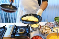 Catering by Design Omelet Station