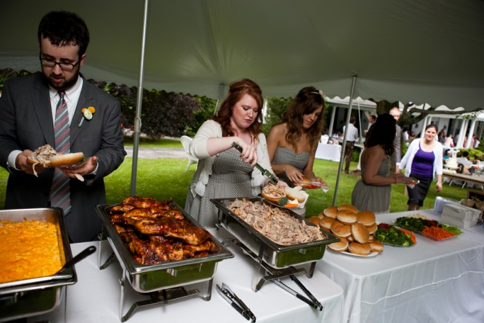 Raleigh Evening Wedding Catering Catering By Design