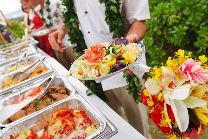The best nc catering beach weddings catering by design for Best food for wedding reception