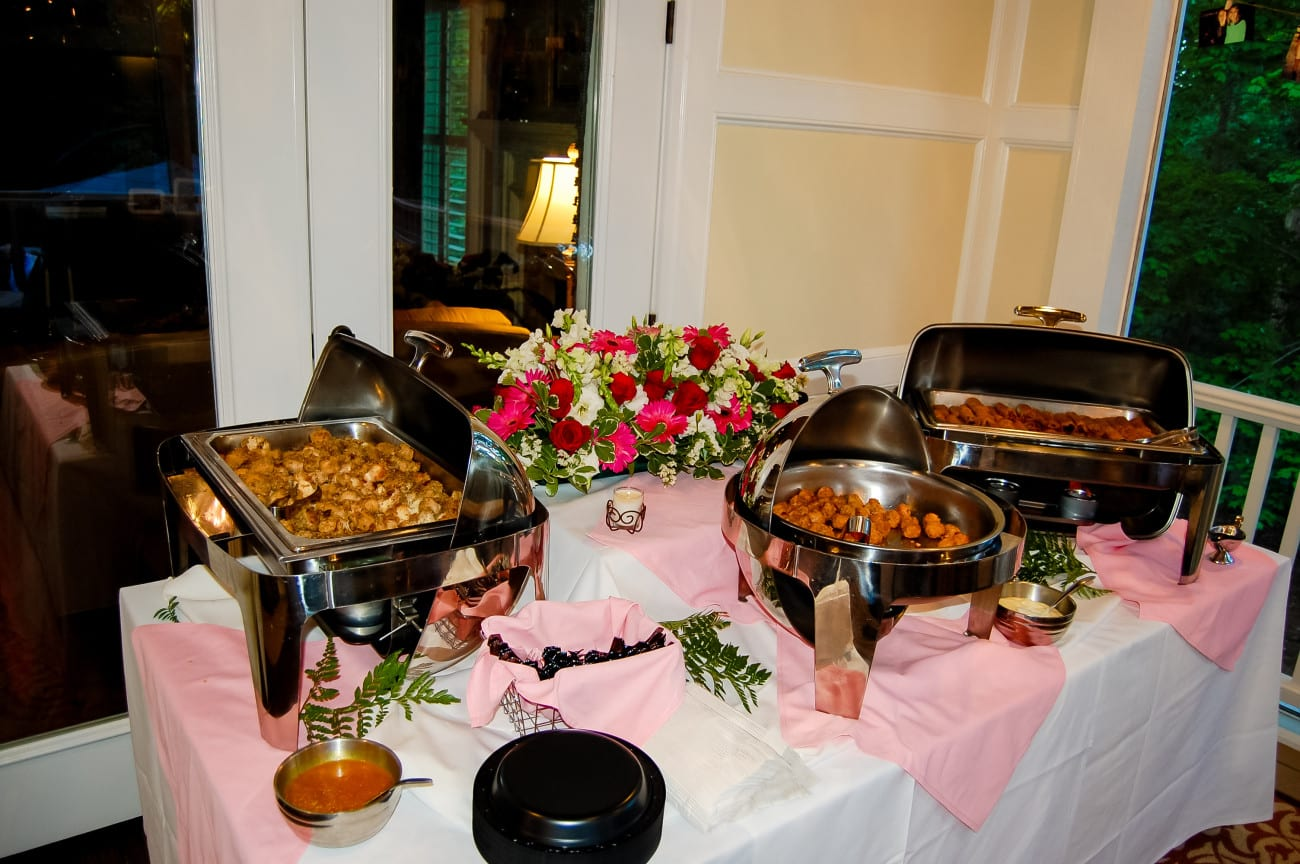 social event catering in Raleigh NC graduation party food