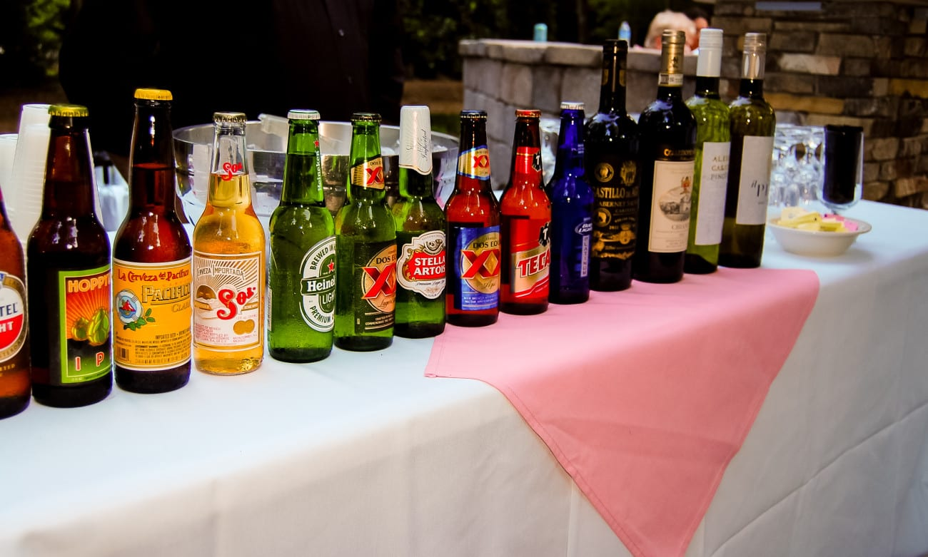 social event catering in Raleigh NC graduation party beverages