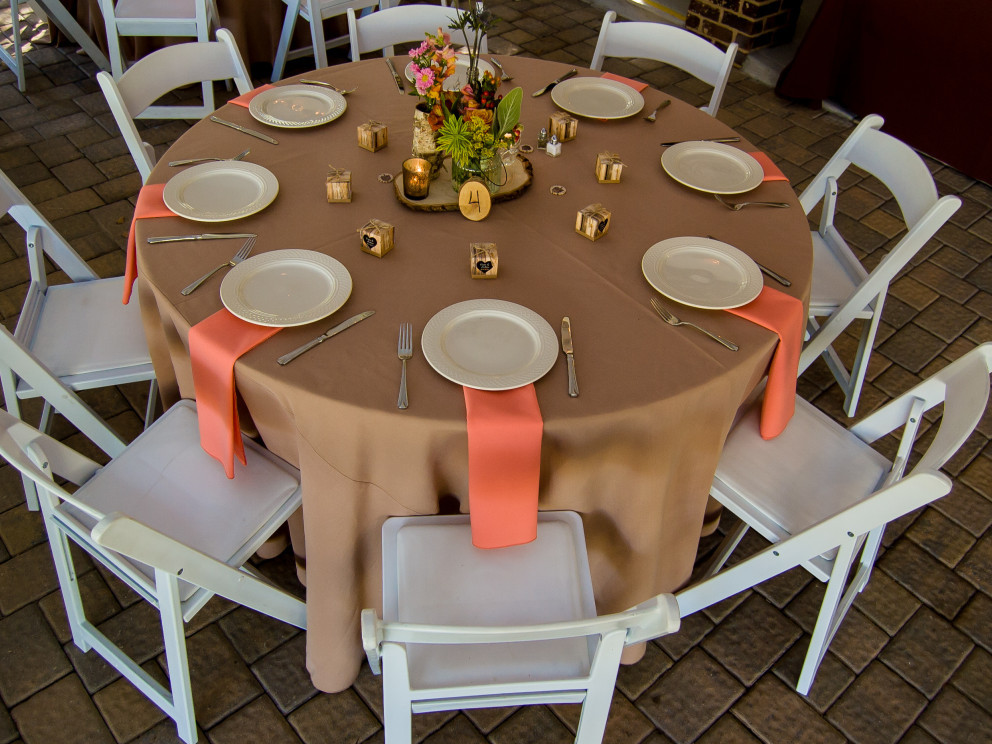 Cary wedding catering and linen services