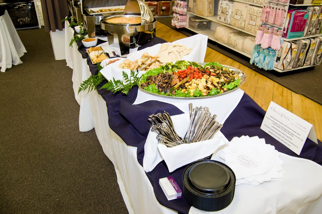 cary wedding catering food