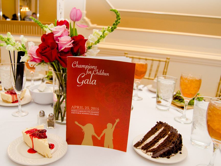 Raleigh caterers for charity