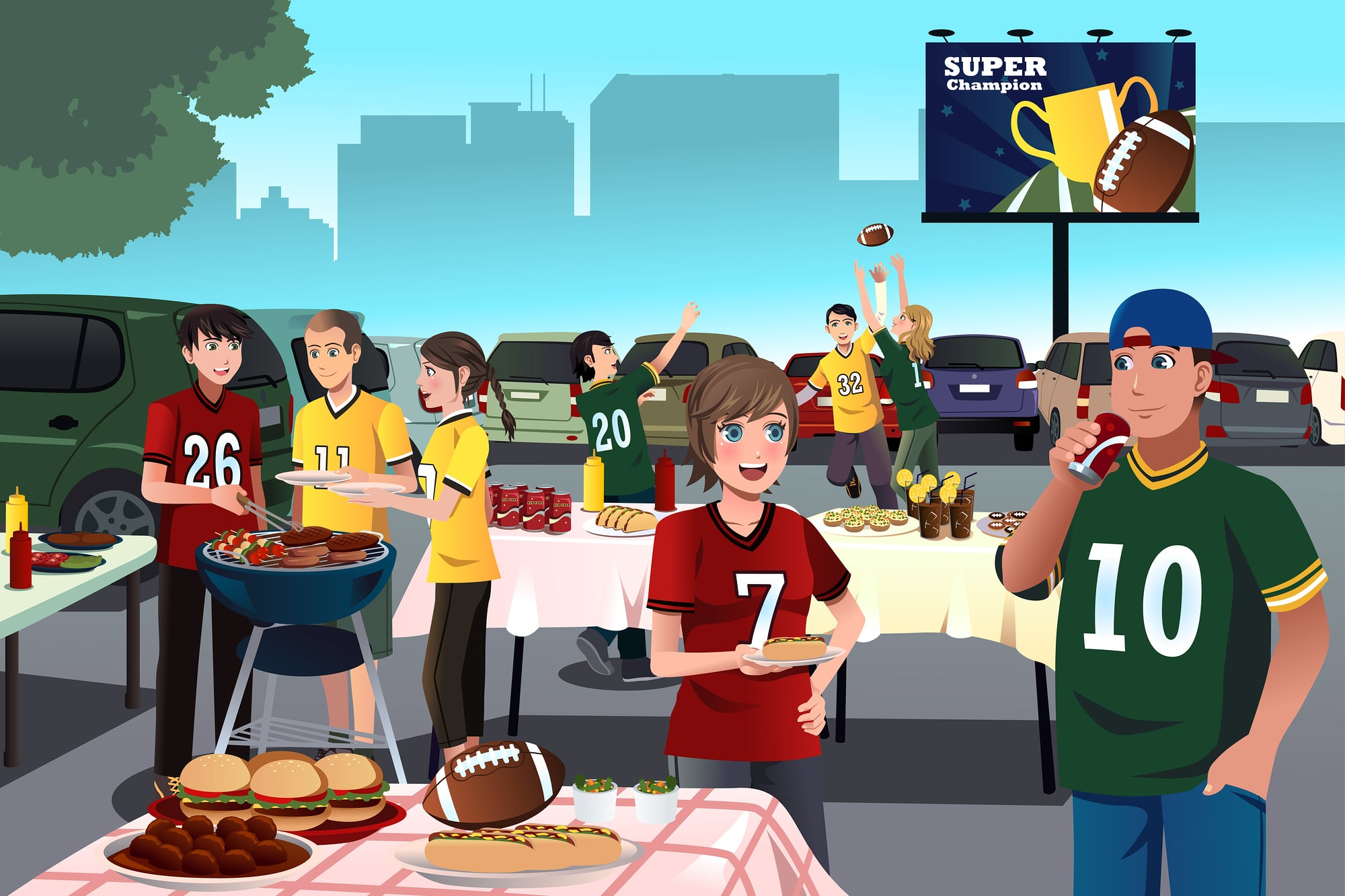 Raleigh Caterers For Tailgate Parties
