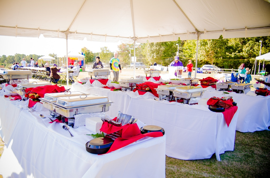 raleigh caterers