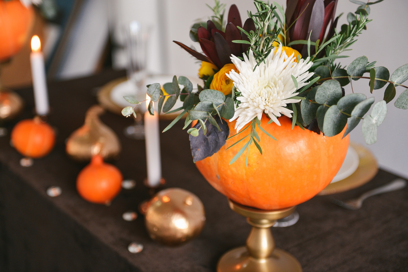 Wedding catering raleigh nc spicing up fall wedding decor with pu how pumpkins can spice up your fall wedding decor junglespirit Images